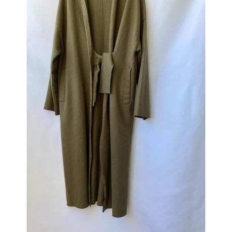 wool gown coat