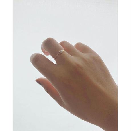 k10 cubic zirconia  ring