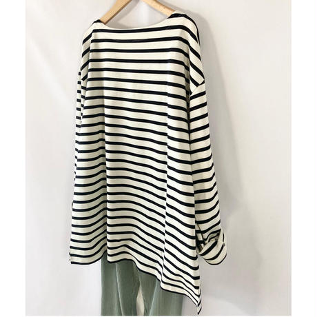 over size basque tee