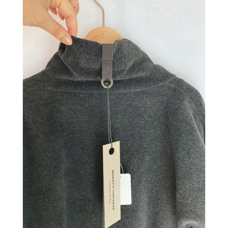 fleece gown coat