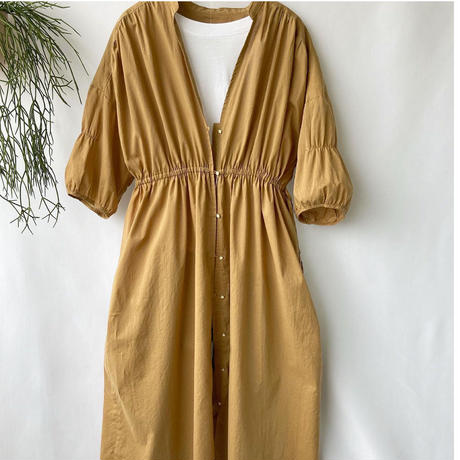 organic cotton gown one-piece