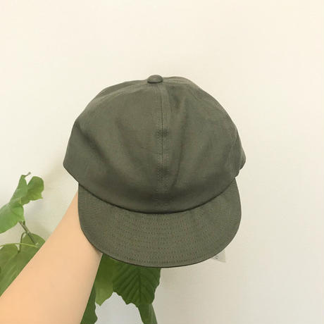 cotton × linen cap