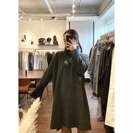 fleece turtle tunic one-piece