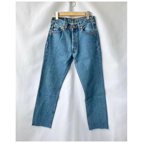 Levis501 remake taperd denim pants 29size
