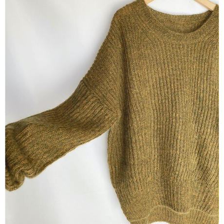 kid mohair knit