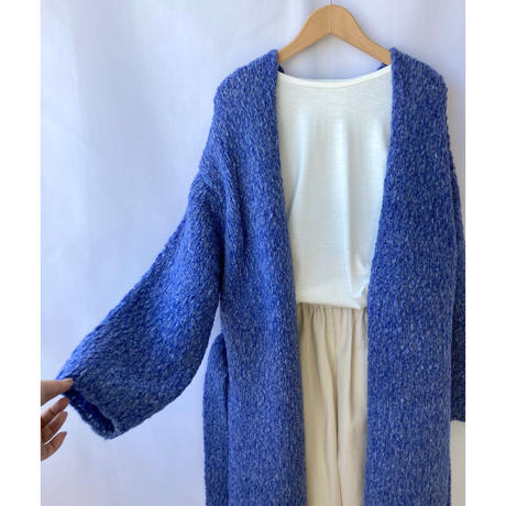 low gauge gown cardigan