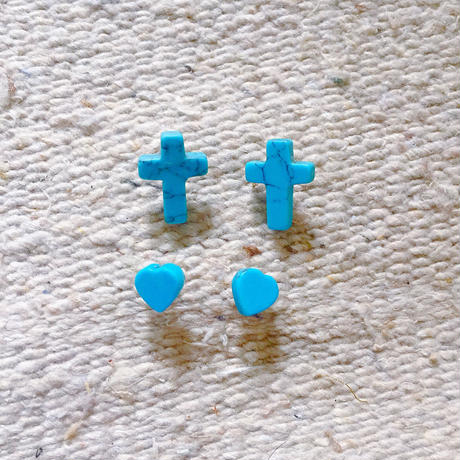 small turquoise pierce
