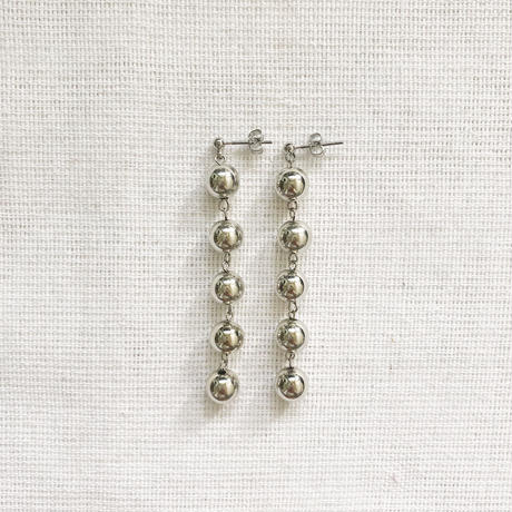 silver circle pierce