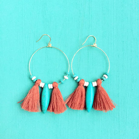 hoop tassel  pierce-brown-