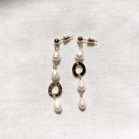 Shellfish Pearl long pierce
