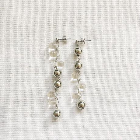 clear silver pierce