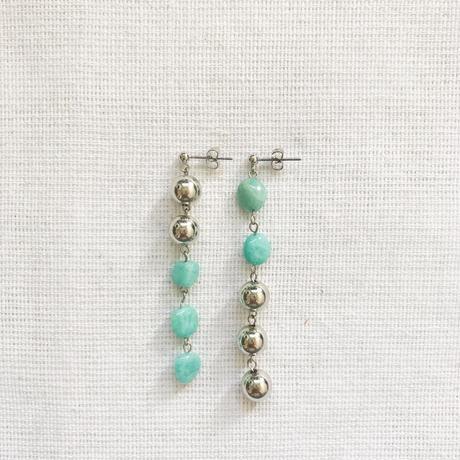 turquoise silver pierce