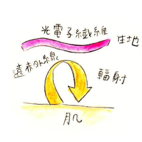 かかとソックス( スモーキーピンク)