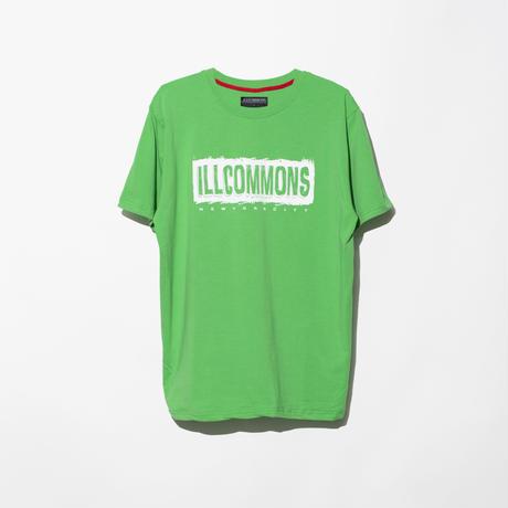 ILLCOMMONS PAINT BOX LOGO  T-SHIRTS GREEN(イルコモンズ ペンキボックスロゴ Tシャツ グリーン)