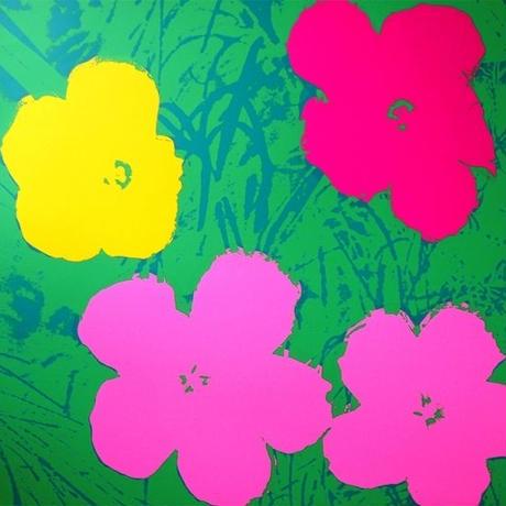 ANDY WARHOL SUNDAY B MORNING FLOWER 11.68(アンディーウォーホル サンデービーモーニング フラワー アート ポスター)