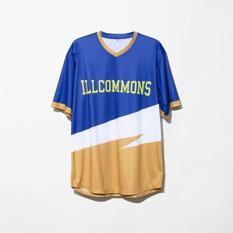 ILLCOMMONS SOCCER SHIRTS BLUE(イルコモンズ サッカーシャツ ブルー)