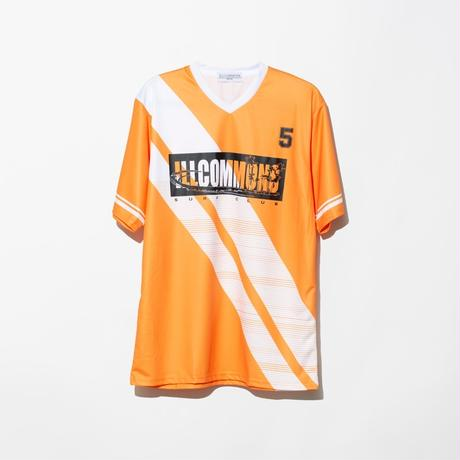 ILLCOMMONS SOCCER SHIRTS ORENGE(イルコモンズ サッカーシャツ オレンジ)
