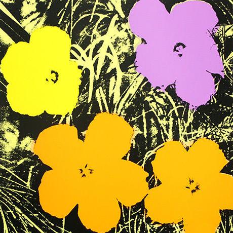 ANDY WARHOL SUNDAY B MORNING FLOWER 11.67(アンディーウォーホル サンデービーモーニング フラワー アート ポスター)