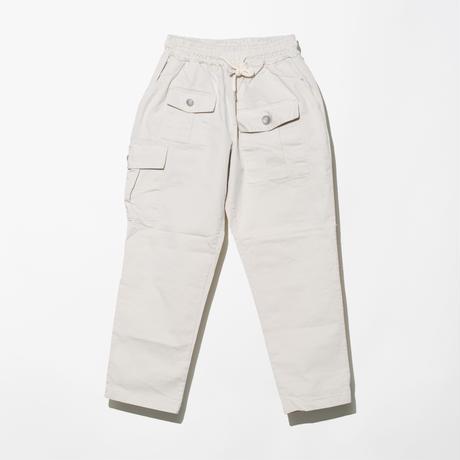 ILLCOMMONS WHITE EASY BUSH PANTS(イルコモンズ ホワイトイージーブッシュパンツ)