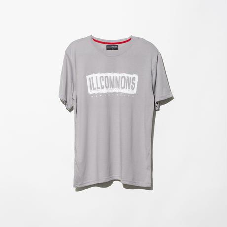 ILLCOMMONS PAINT BOX LOGO  T-SHIRTS GREY(イルコモンズ ペンキボックスロゴ Tシャツ グレー)