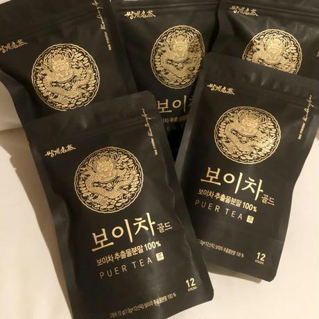 PUER TEA Gold   韓国ボイ茶