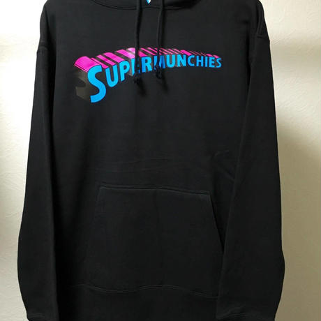 SUPER MUNCHIES HOOD PARKA(BLACK)
