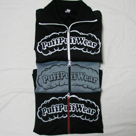 Puff Puff Jersey JACKET (BLACK/WHITE)