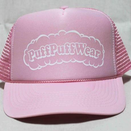 Puff Puff MESH CAP (SOFT PINK/WHITE)