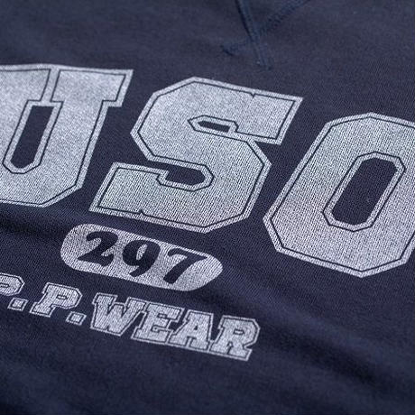 USO297 S/S SWEAT (NAVY)