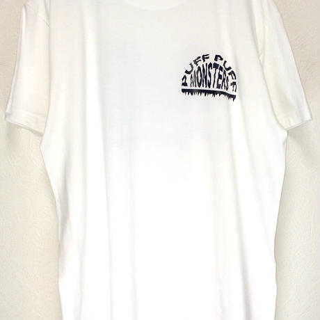 PUFF PUFF MONSTERS TEE (WHITE)