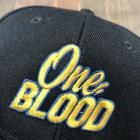 【TAPPOI ORIGINAL BRAND】ONE BLOOD Grafica Embroidery SNAPBACK CAP (BLACK①)