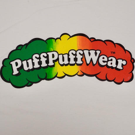 Puff Puff Gradation TEE (WHITE)