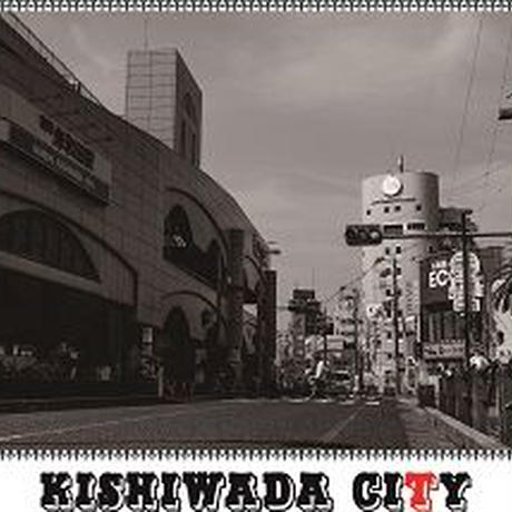 【KISHIWADA CITY】LEPEZEN PHOTO Long Sleeve T-Shirt(EMERALD/岸和田駅)