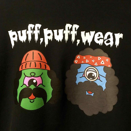 PUFF PUFF MONSTERS HOOD PARKA(BLACK)