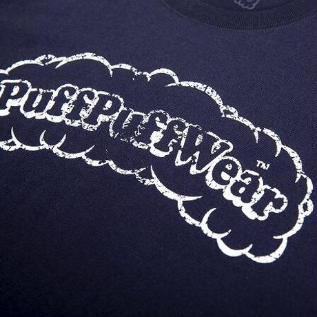 【ハットリオリジナル】puffpuff scratched (NAVY)
