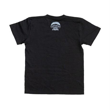【狩集広洋】マングローブ TEE (BLACK)
