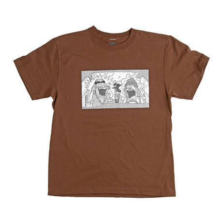 C&C TEE (DARK BROWN)