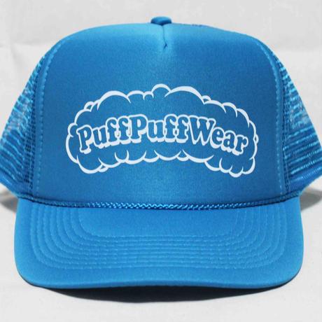 Puff Puff MESH CAP (TURQUOISE BLUE/WHITE)