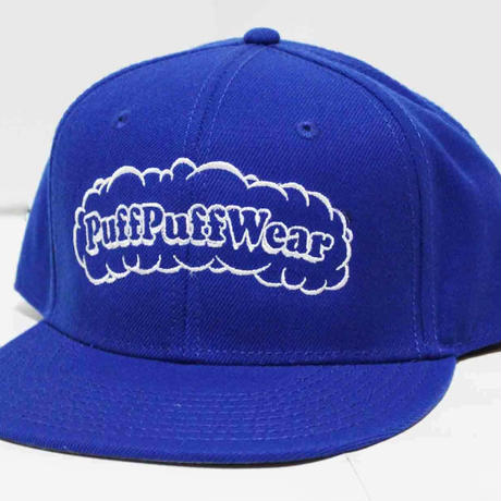 【刺繍】Puff Puff SNAPBACK CAP (ROYAL BLUE)