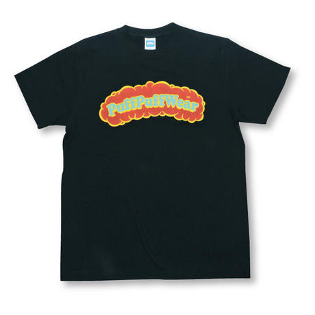 【ランダムにお届け!!】Puff Puff Custom TEE (BLACK)