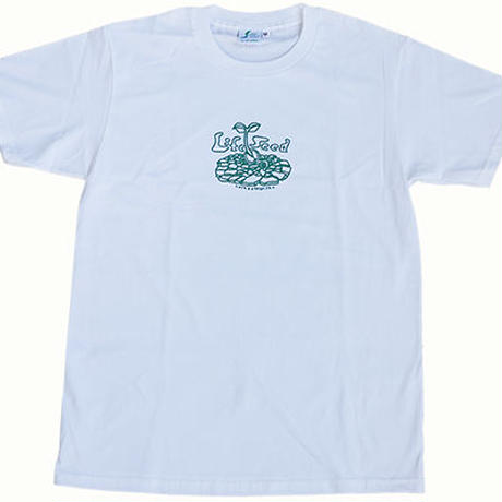 -Jah Works-【LIFE SEED × 狩集 広洋】LIFE SEED MESSAGE-T (WHITE)