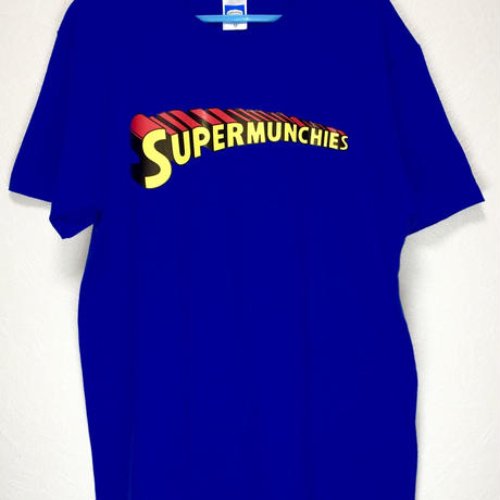 SUPER MUNCHIES TEE(ROYAL BLUE)