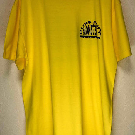 PUFF PUFF MONSTERS TEE (YELLOW)