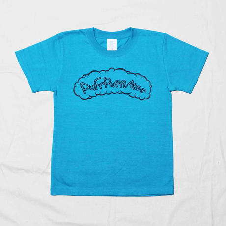 Puff Puff Kids TEE (TURQUOISE BLUE)