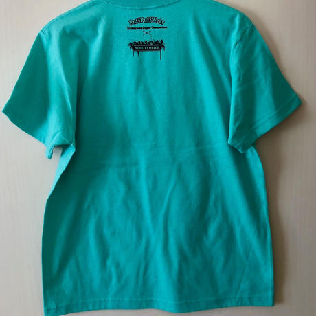 【コラボ】Up in the sky TEE  (MINT GRREN)