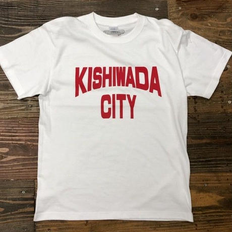 【KISHIWADA CITY】KISHIWADA CITY REP TEE(WHITE)