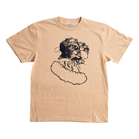 【JUNK-R】Mystic Man TEE (LIGHT BEIGE)