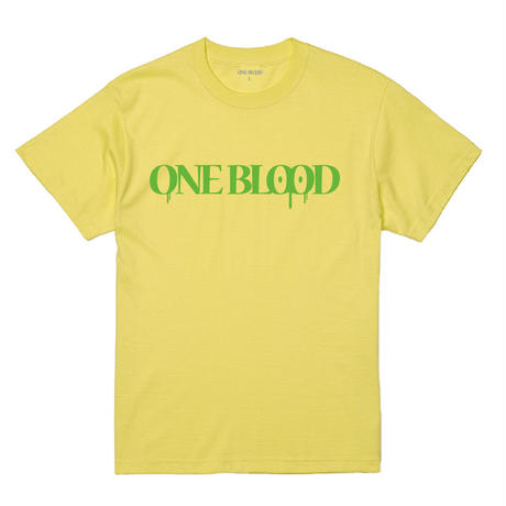 【TAPPOI ORIGINAL BRAND】ONE BLOOD REGULAR TEE(LIGHT YELLOW)
