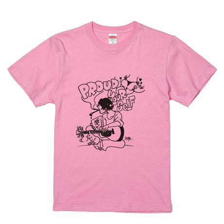 【JUNK-R】PROUD YOUR SELF TEE (PINK)