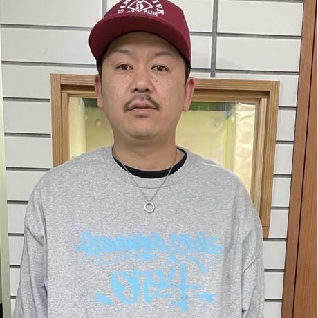 【KISHIWADA CITY】TAGGING Classic Long Sleeve T-Shirt (GRAY)